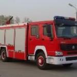 Xe chữa cháy bọt nước – HOWO 6000N – 500F