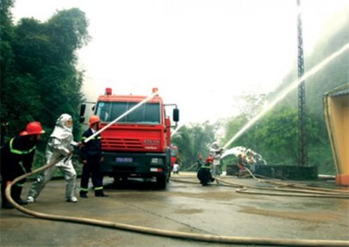 Quá trình nghiệm thu sau khi lắp đặt hệ thống phòng cháy