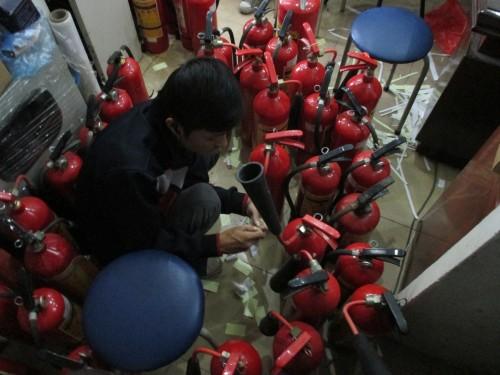 Dự án phân phối thiết bị chữa cháy Yamaha