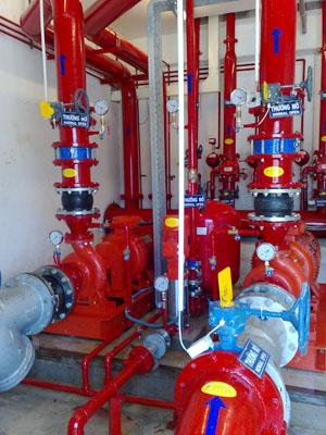 Cung cấp thiết bị phòng cháy cho Công ty thương mại & du lịch Quảng Phong