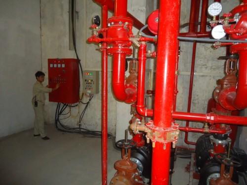 Cung cấp thiết bị chữa cháy cho công ty TNHH xây dựng vận tải Hùng Vương