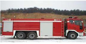 Xe chữa cháy bọt nước - 8000N - 800F