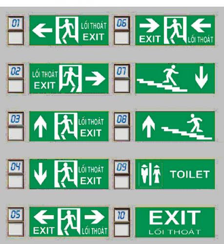 Đèn báo lối thoát hiểm - Kentom KT-650