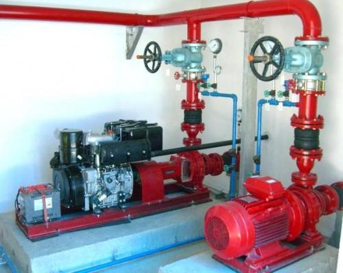 Hệ thống phòng cháy chữa cháy đạt tiêu chuẩn