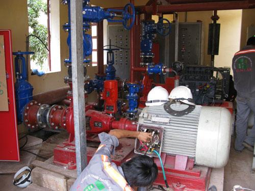 Hệ thống phòng cháy chữa cháy đạt tiêu chuẩn quốc tế
