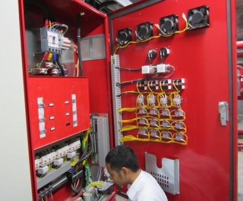 Bảng điều khiển hệ thống phòng cháy