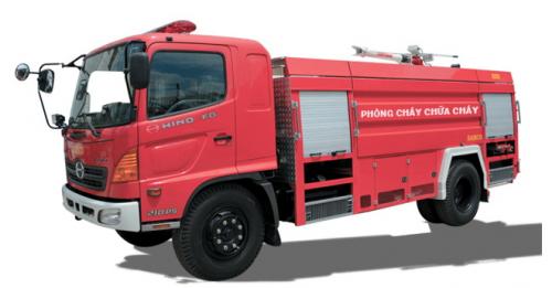 Xe chữa cháy - Hino FC9JESA
