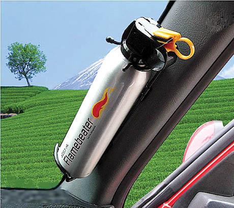 Giải pháp bình bột chữa cháy dành cho xe ô tô