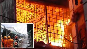 Hiện tượng cháy nổ bình ga tại Hà Nội