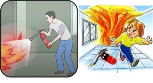 Kinh nghiệm chữa cháy trong các đám cháy lớn