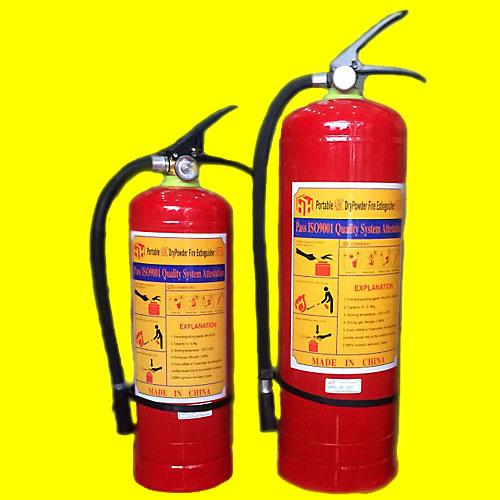 Bình bột chữa cháy đạt tiêu chuẩn quốc tế ISO 9001