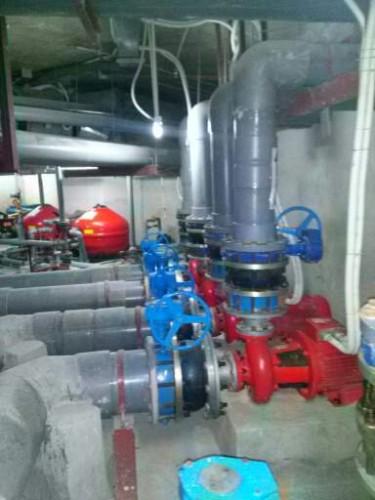 Bảo dưỡng hệ thống thiết bị chữa cháy cho Royal city
