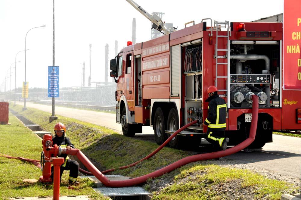 Giải pháp cung cấp nước phục vụ phòng cháy chữa cháy